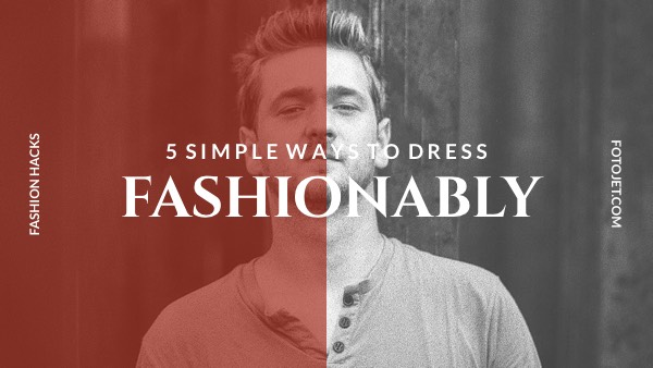 Fashion Dressing Ideas YouTube Thumbnail Template