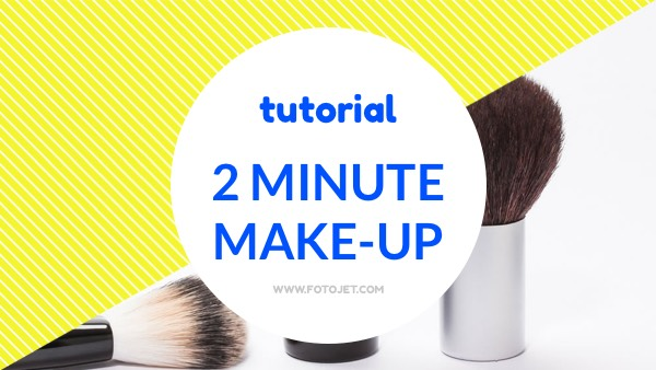 '.Makeup Tutorial YouTube Video Thumbnail Template.'