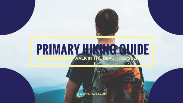 Hiking Guide YouTube Video Thumbnail Template