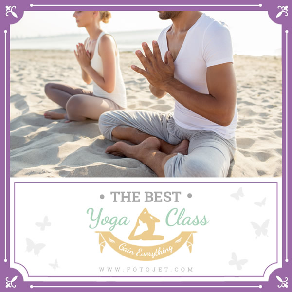 Yoga Class Instagram Post Template
